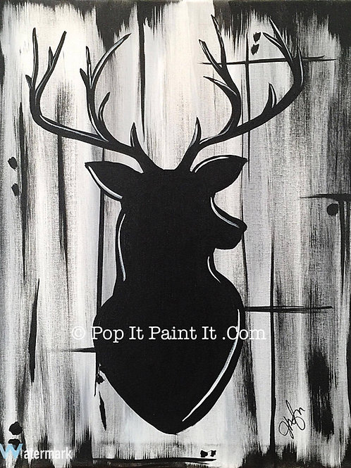 #16- Deer Head