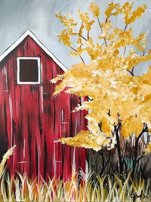 #68- Red Barn