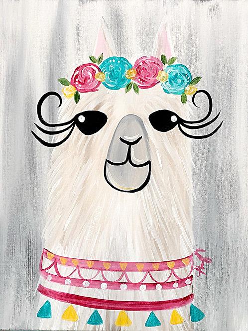 #4- Gray Llama