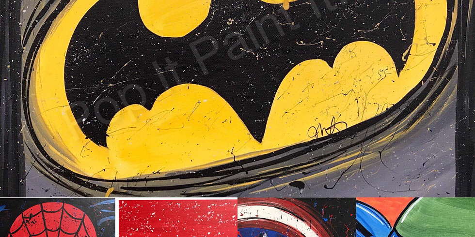 Dec 30- Kids Pick your Superhero! (3pm)