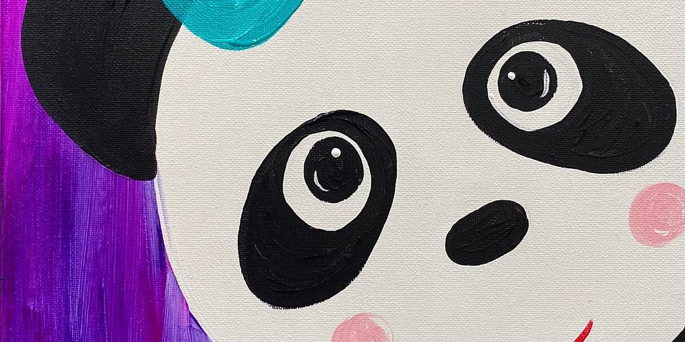 Feb.10- Kids Class Panda