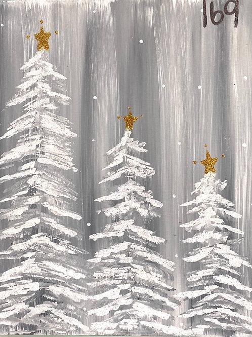 #84- Winter Trees