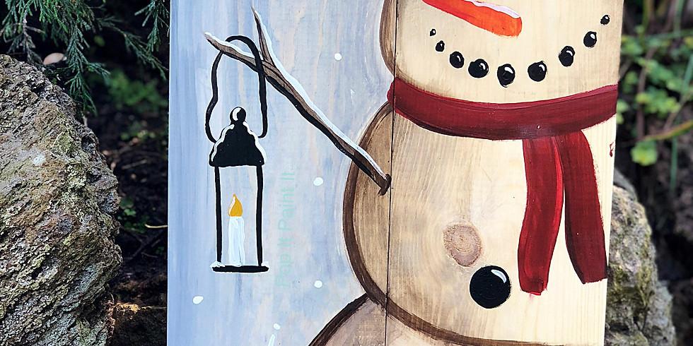 Nov. 17- Wood Snowman