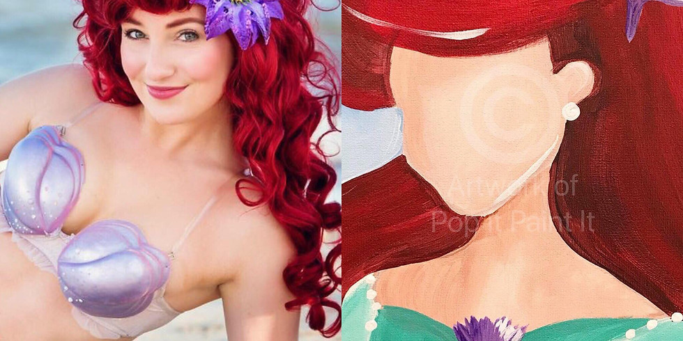July 16- Ariel Paint & Meet with Laurel's Princess Parties