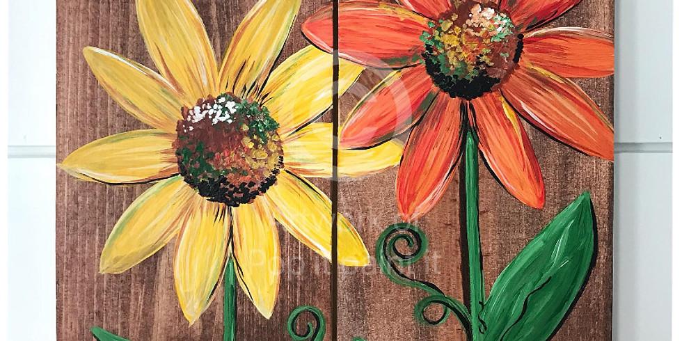 Oct. 20- Wooden Flowers