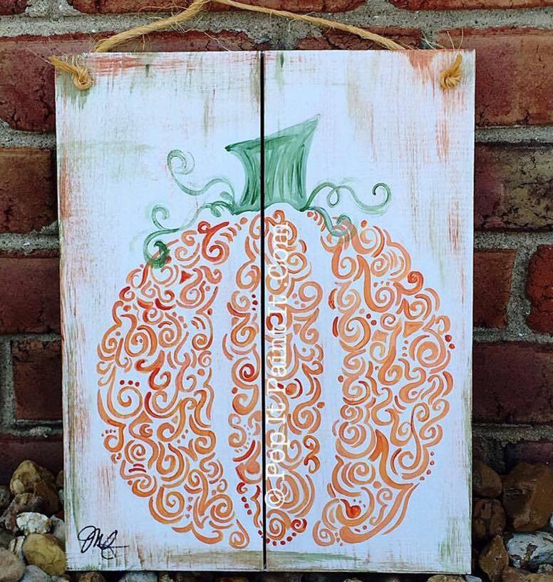 Curvy pumpkin