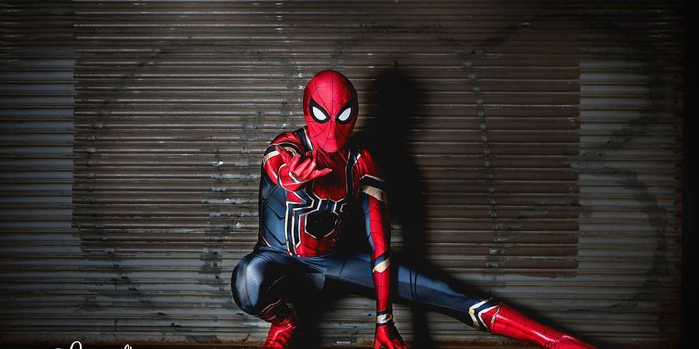 Mar. 23 - Spiderman Paint & Meet