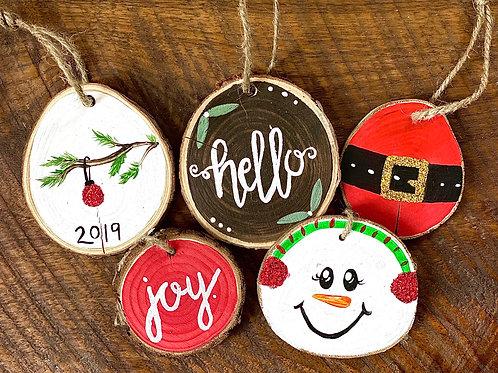 Ornaments - Wooden Mix Set
