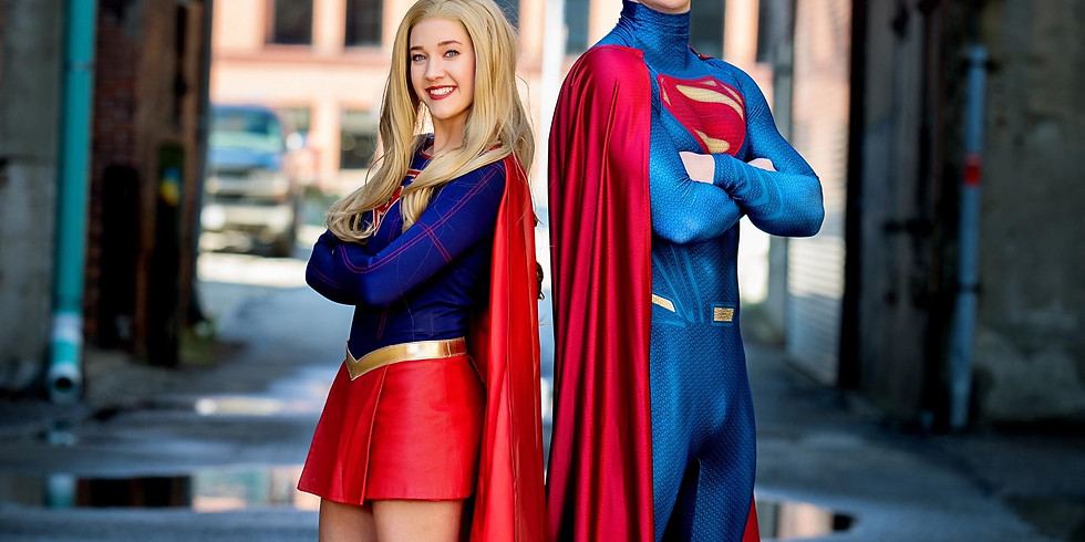 Dec. 27- Superman and Girl with Laurel's Princess Parties