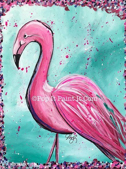 #49- Flamingo