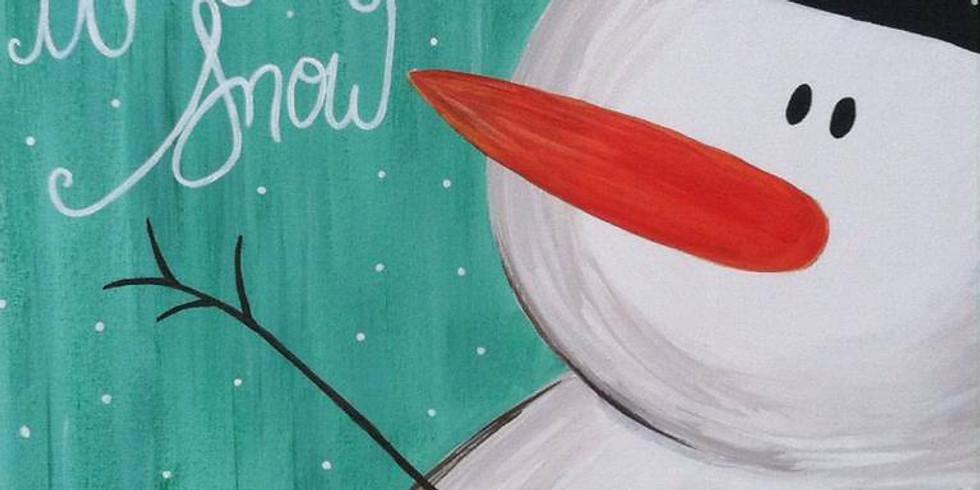 Nov. 28- Let it snowman