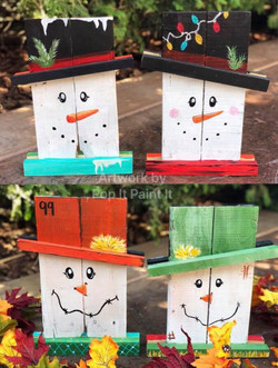 Reversible Snowman/Scarecrow