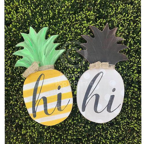 #55- Wooden Pineapple DIY kit
