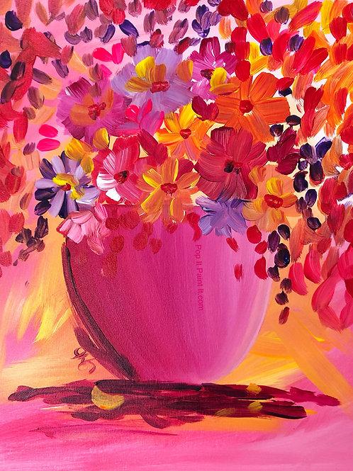 #39- Pink Vase