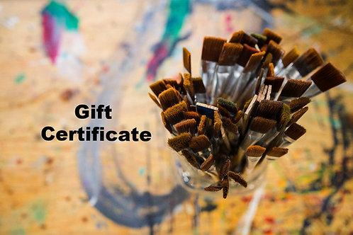 $25 Girft Certificate