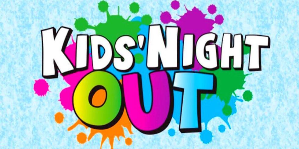 July 23- Kids Night- Open Paint