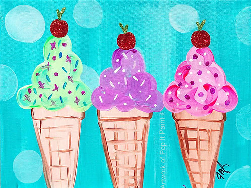#37- Ice Cream Cones