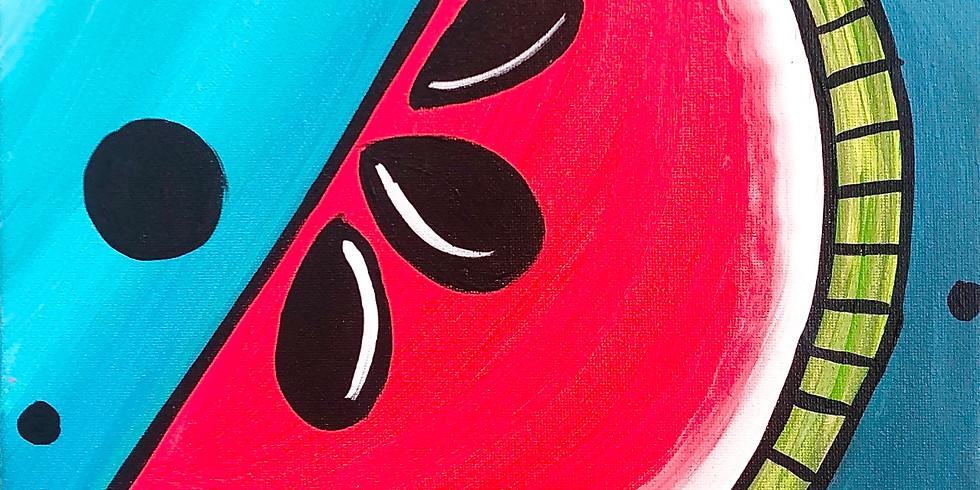July 7- Kids Class- Watermelon