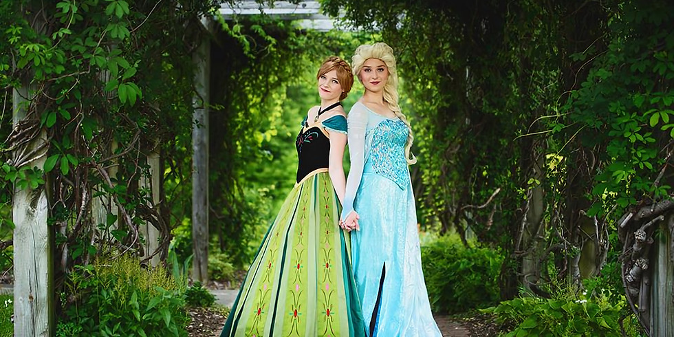 Nov 5- Frozen Paint and Meet with Laurel's Princess Parties