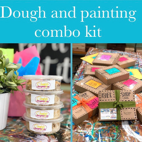 Dough and Painting Kit