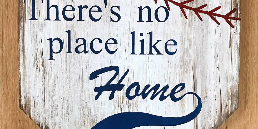 Apr. 23- Wood Home Plate
