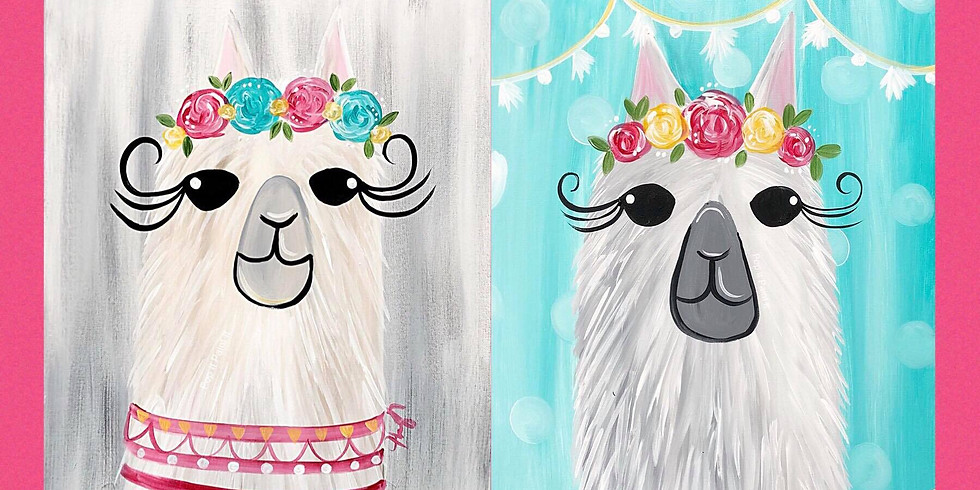Mar 31- Llama Llama Kids and Adults!