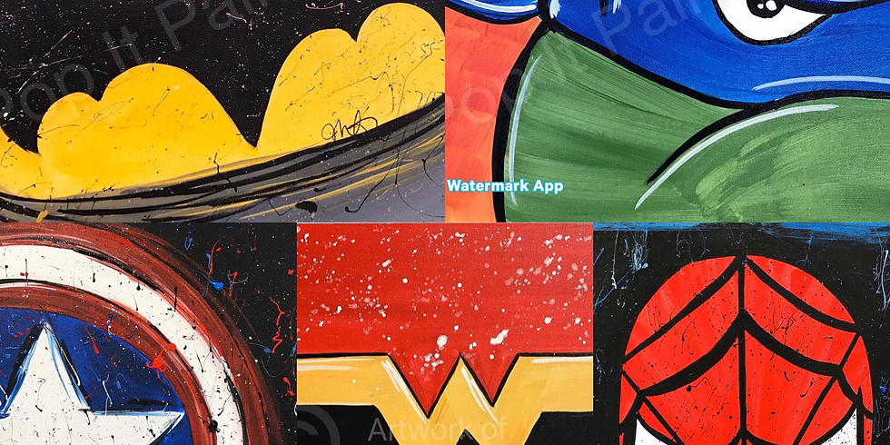 Feb. 16- Kids Class-Super Hero Night