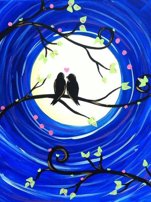 #100- Love birds