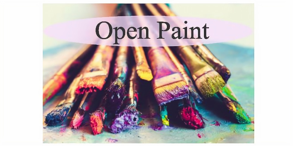 May 14 - Open Paint- Pick your own painting!