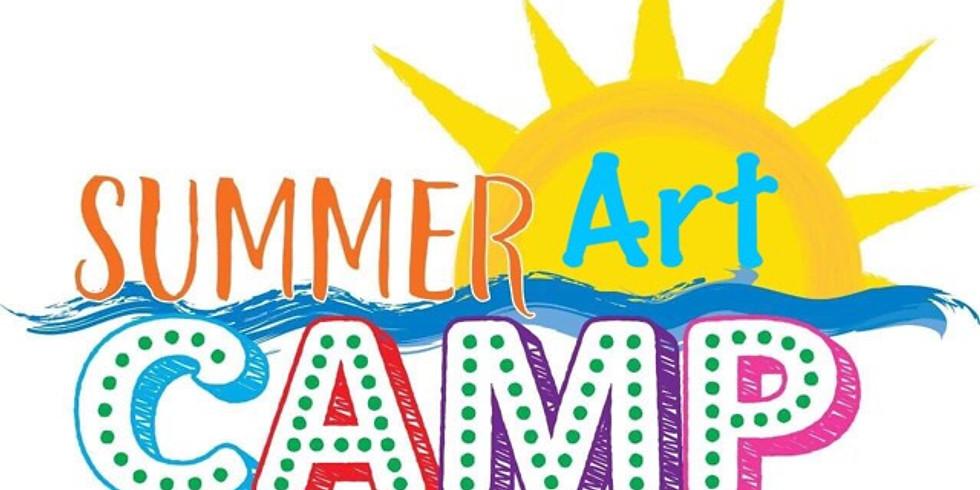 June 24- 27 - Kids Summer Art Camp