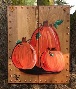 Three Little Pumpkins