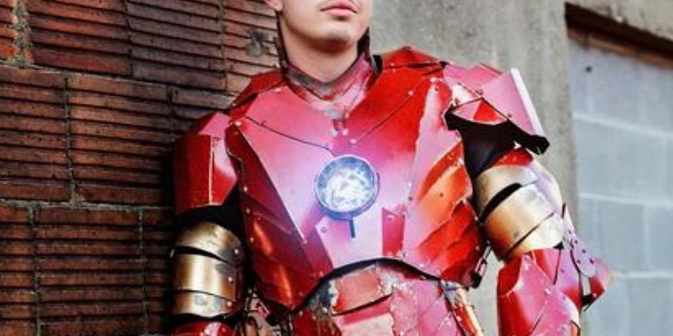 Jan. 3- Iron Man with Laurel's Princess Parties