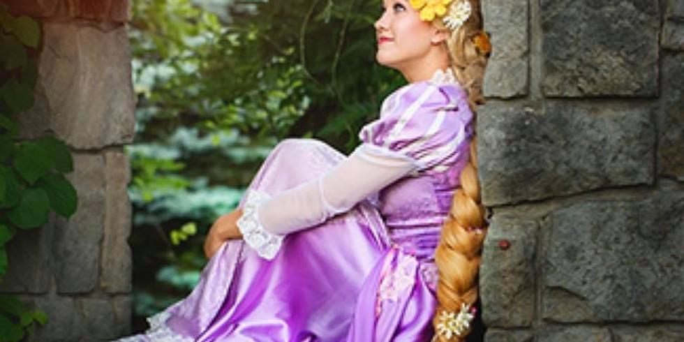 Dec. 3- Rapunzel with Laurel's Princess Parties