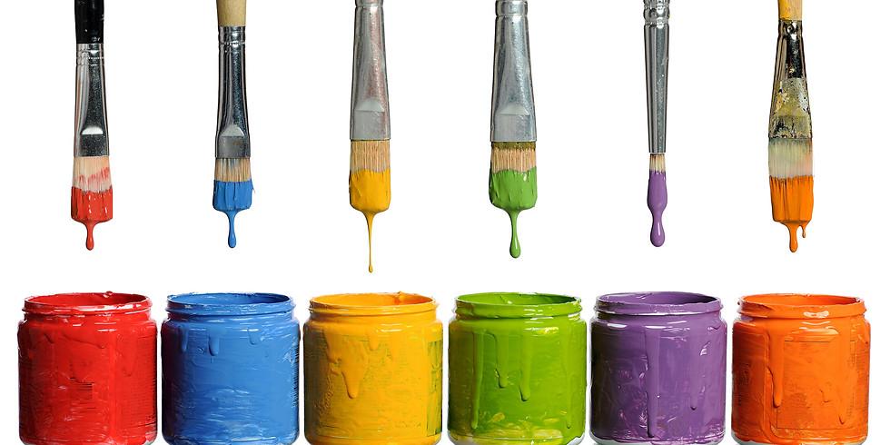 Dec 26- Teen and Pre-teen - Open Paint (5pm)