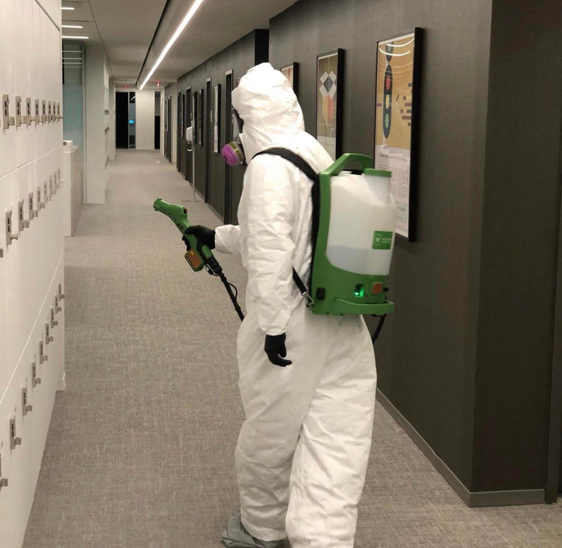 COVID-19  Commercial  Disinfecting