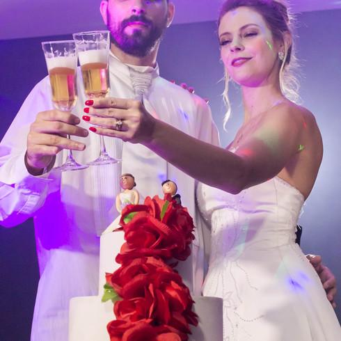Champagne do casal