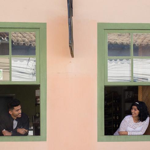 Casando na janela