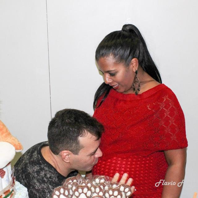 Fotografia chá bebê