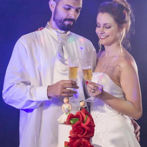 Champagne do casamento