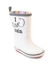 I Love Rain White