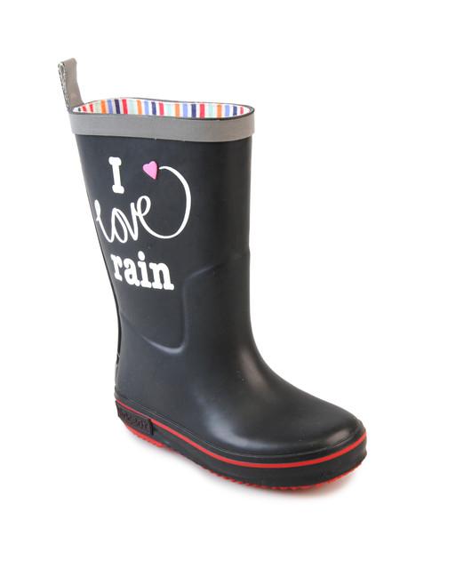 I Love Rain Black