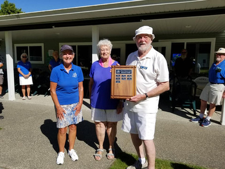 Mixed Pairs Tournament Results