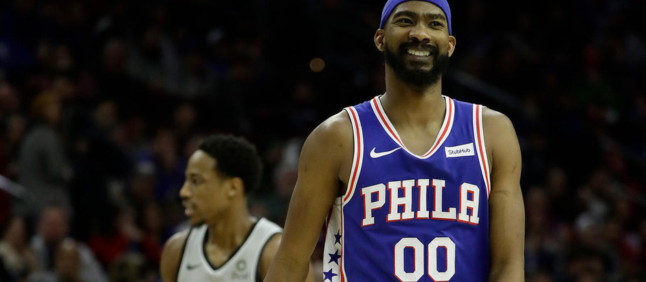 """The Greyhound"" Corey Brewer Gives the Young Sixers Bench Some Teeth"