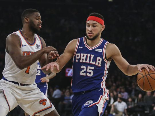 "Ben Simmons Backs Up ""Too soft"" Comments By Going Hard on the New York Knicks."