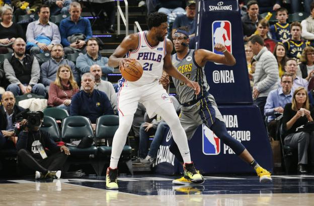 Joel Embiid Fights Through Back Pain, Stars in Victory Over Pacers