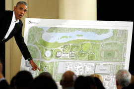 Obama's Chicago Presidential Center has started construction, and some people aren't happy about it