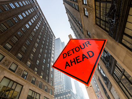 Are you currently on a detour?