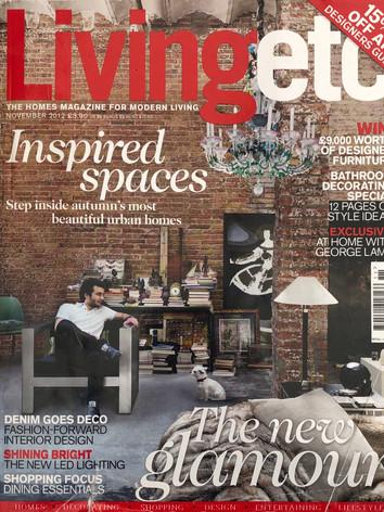 Living Etc front cover - November 2012