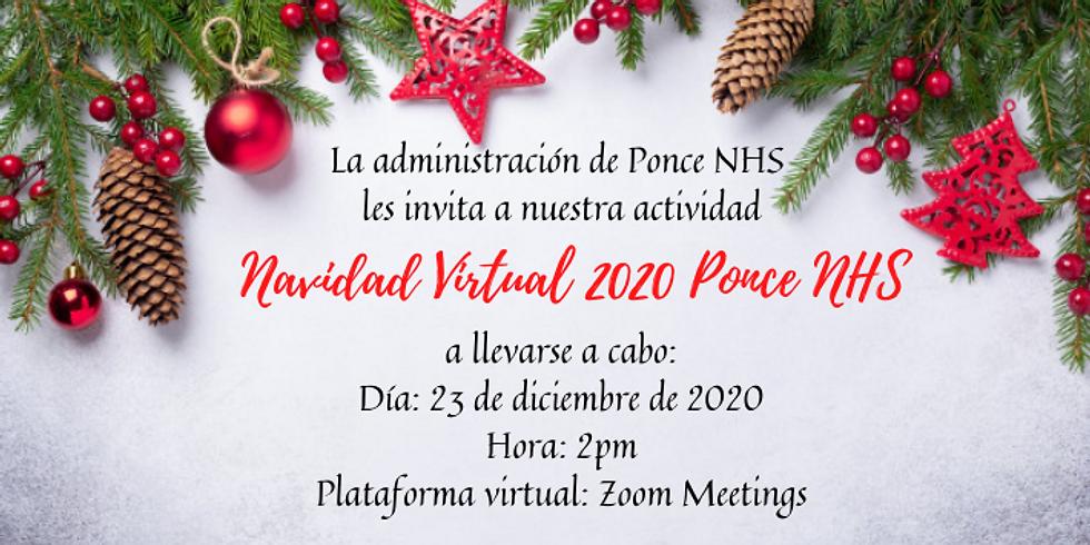 Invitación Actividad Navidad Ponce NHS