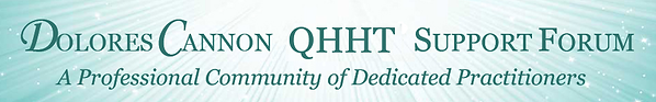 QHHT support forum logo
